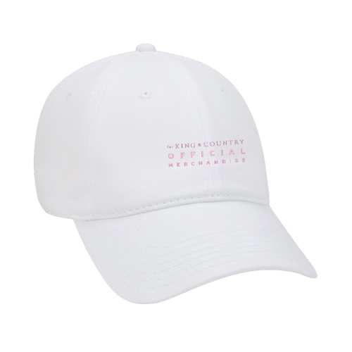 FKC White Dad Hat