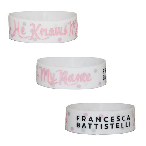 He Knows My Name Wristband