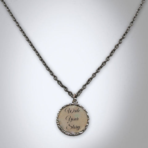 Write Your Story Necklace
