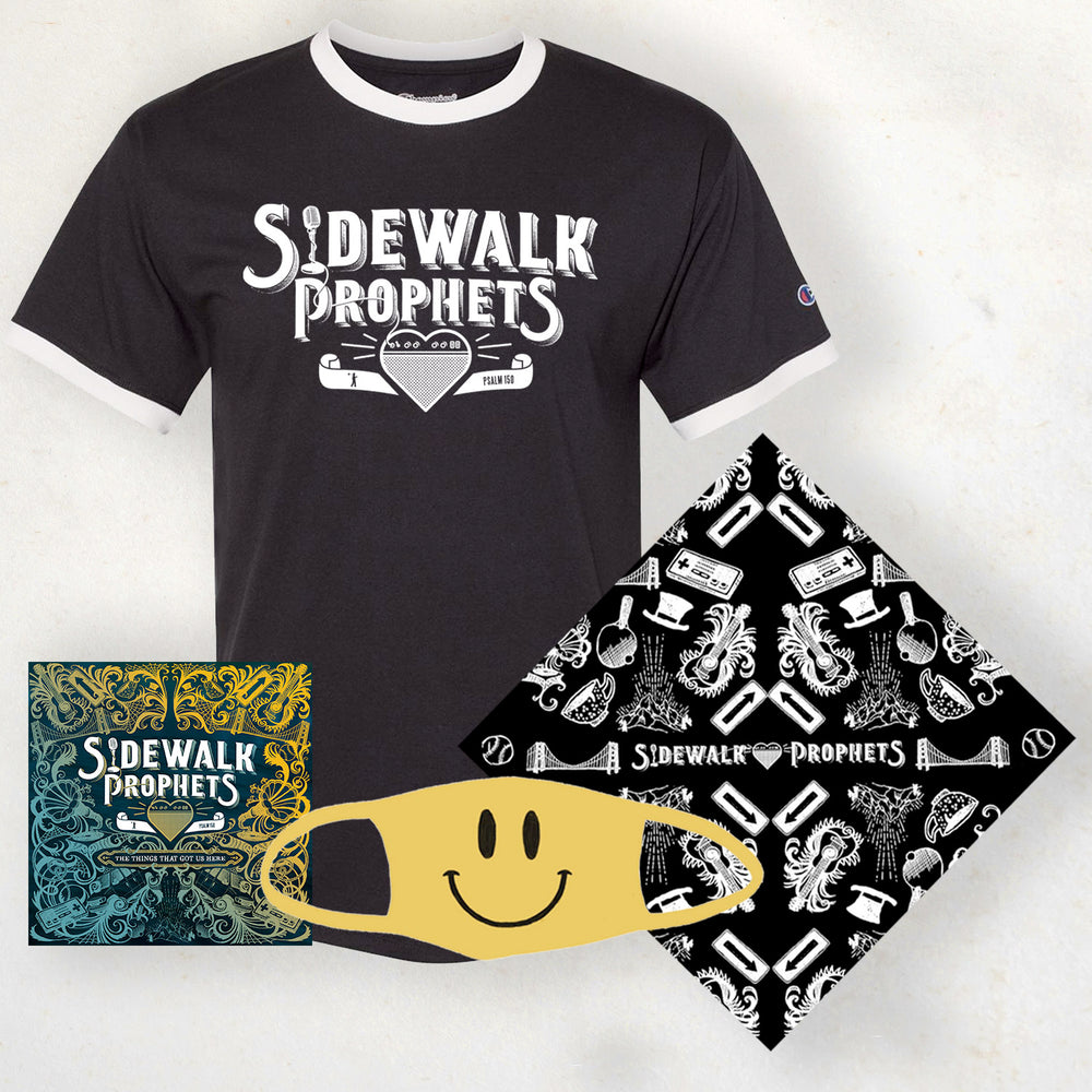 Sidewalk Prophets Official Logo Tee Bundle