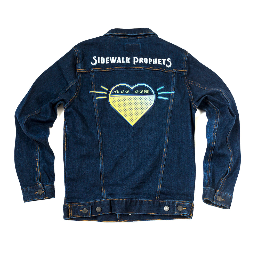 Custom Patched Premium Denim Jacket