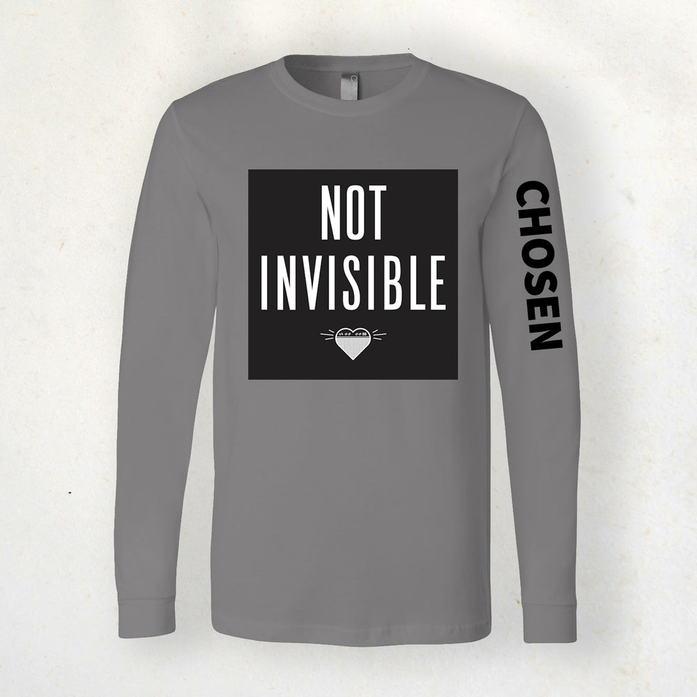 Not Invisible (Chosen) Long Sleeve Tee