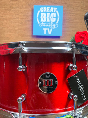 WFL III Snare Drum 12/19/2020 (Autographed!) [Great Big Family Christmas 2020]