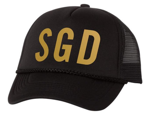 """SGD"" Trucker Hat"