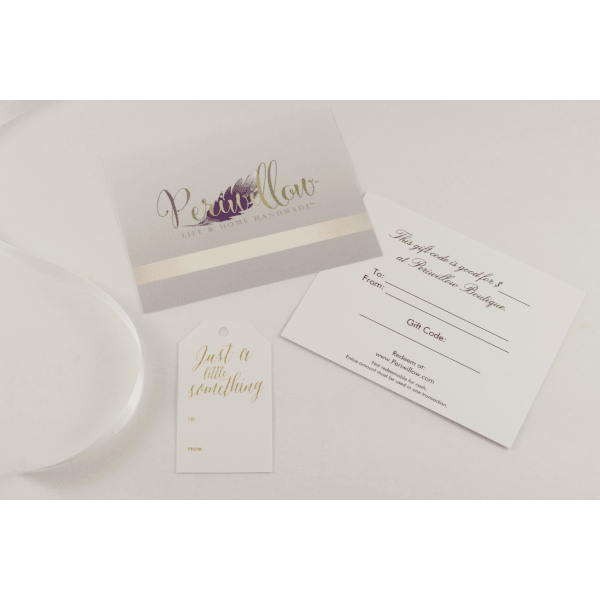 Gift Certificates - Periwillow
