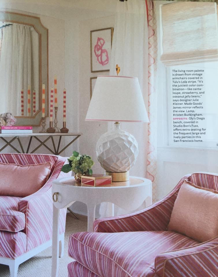 Ana Candles in House Beautiful Magazine