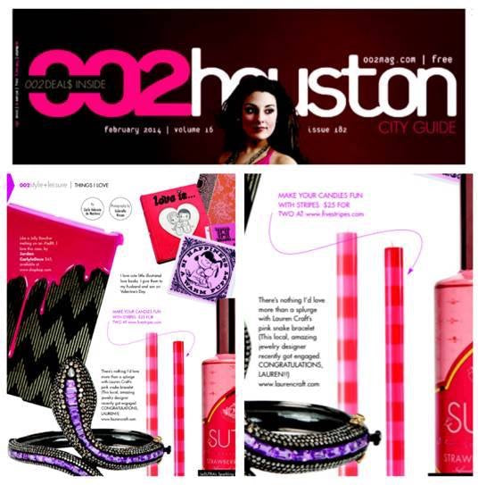 Ana Candles Featured in Houston City Guide