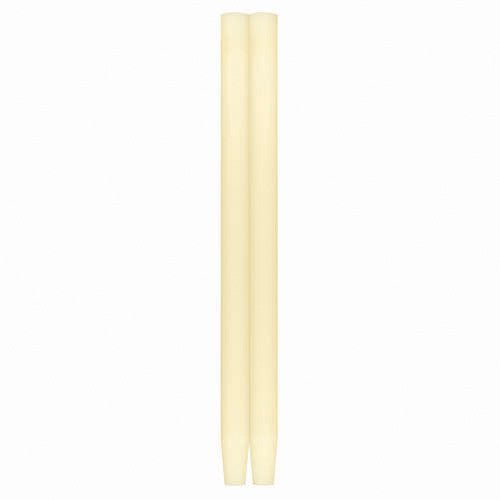 Taper Candles Solid Ivory