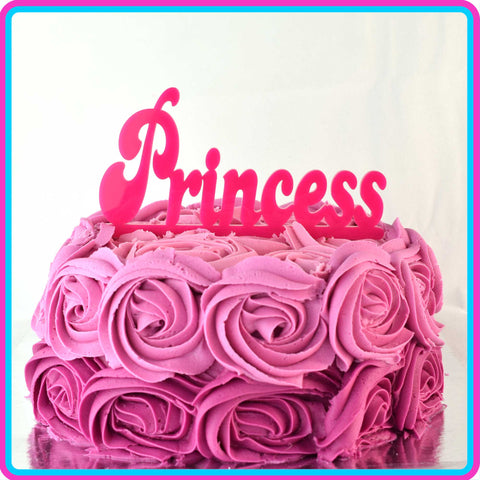 """Princess"" Cake Topper"