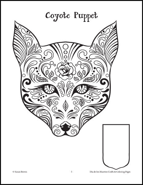 Día De Los Muertos Crafts And Coloring Pages - Warm Hearts Publishing
