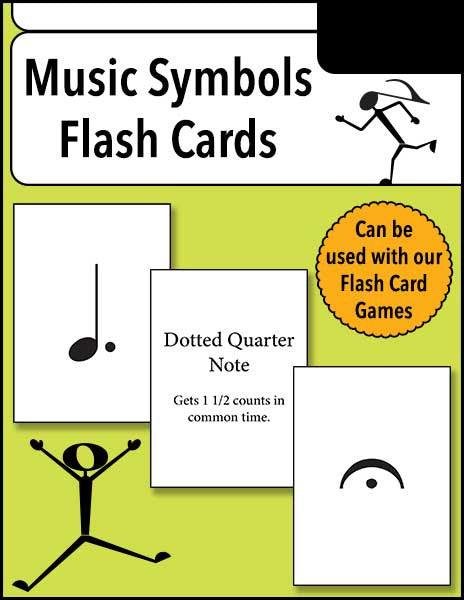 image regarding Printable Musical Note Flashcards identify New music Symbols Flash Playing cards - Scorching Hearts Putting up