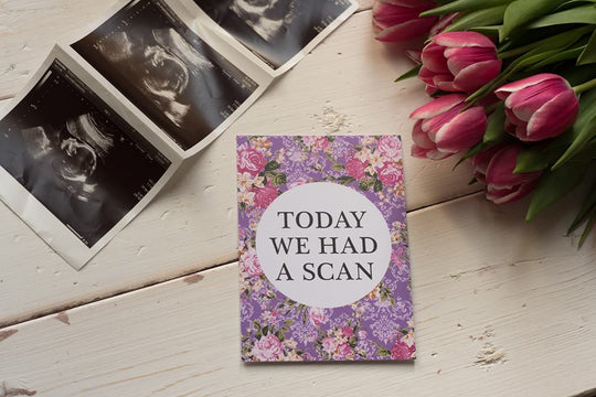 Bright Floral Pregnancy Journey & Reality Cards ® DD022