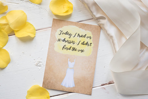 Wedding Journey Cards ® - Alternative DD037