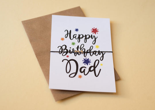 DD100 A6 postcard print - Birthday Dad