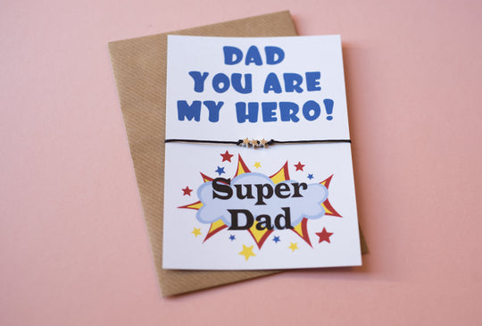 DD120 A6 postcard print - Dad My Hero