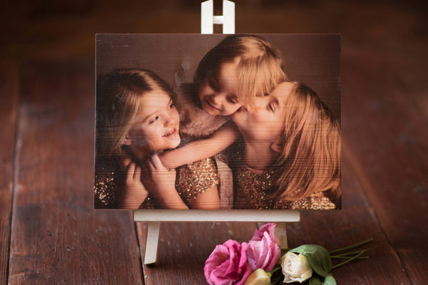 Printed Wooden Photo Block -  DD248
