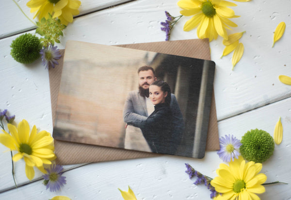 Printed Wooden Photo Postcard DD244