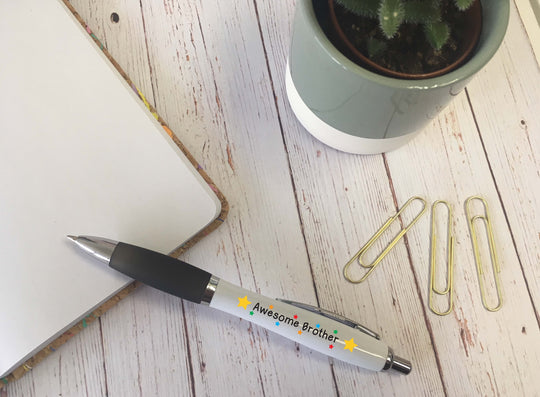 Personalised Pen - Awesome Brother - DD583