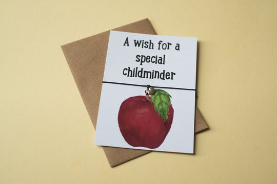 A6 Postcard Print - Childminder Apple - DD113