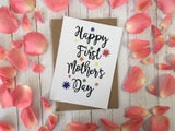 A6 postcard print  - Happy First Mothers Day -  DD257