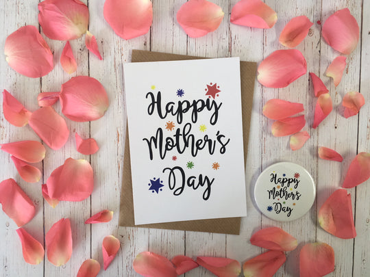 A6 postcard print  - Happy Mothers Day -  DD415
