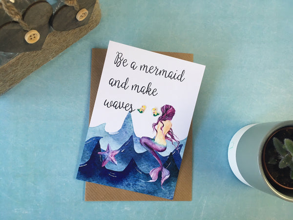 Jewellery Card - Mermaid
