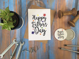 A6 postcard print - Happy Fathers Day  DD387