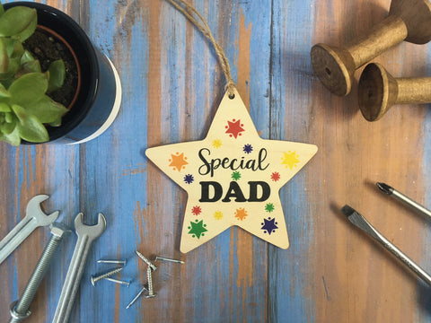 Hanging Star - Special Dad - DD424