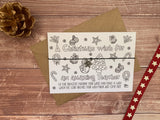 Printed Wooden Wish Bracelet - You Are The Best Mum Ever! - DD266