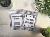 Premature Baby Journey Cards ® Monochrome DD019