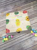 Personalised Printed Easter Treats Box - Egg Design DD385