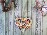 Wooden Hanging Heart Tropical - You Got This DD399