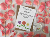 A6 postcard print  - Mums are like Buttons DD250