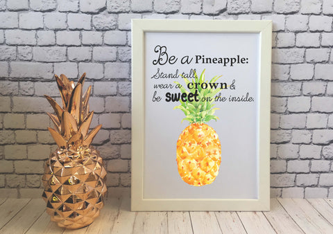 Card Print - Be a Pineapple - DD517