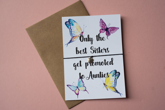 A6 Postcard Print - Sisters to Aunties - DD103