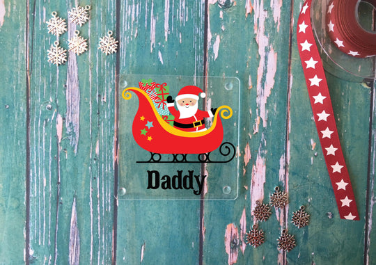 Personalised Christmas Coasters -Various - DD349