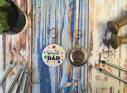 Special Dad Bottle Opener Keyring - DD640