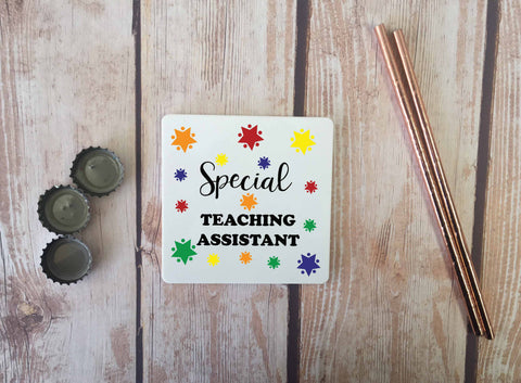 Personalised Coaster - Special Teaching Assistant - DD666
