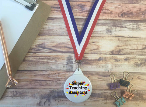 Super Teaching Assistant Medal - DD649