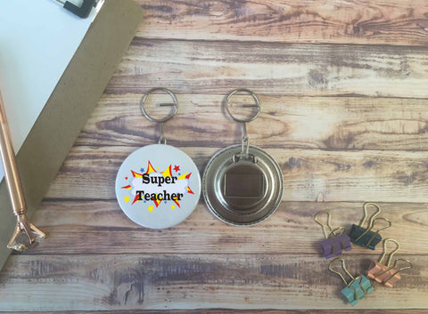 Super Teacher Opener Keyring - DD644