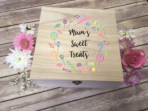 Personalised Printed Sweet Treats Box