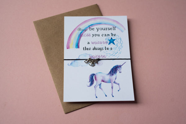 A6 Postcard Print - Be a Unicorn - DD069