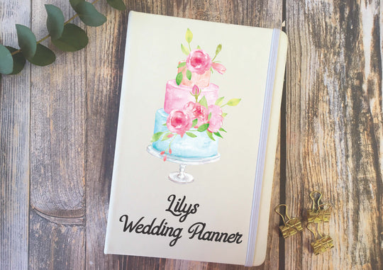 Personalised Lined Notepad - Wedding Planner DD289