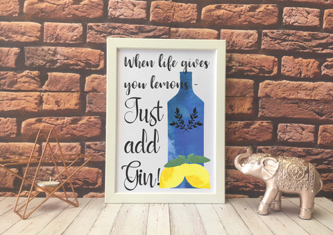 Card Print - When Life Gives You Lemons - DD550