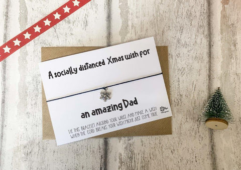 Wish Bracelet - A socially distanced Xmas wish for an amazing Dad DD1783