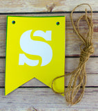 Personalised Bunting Bright Multicolour