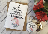 A Mammy Like You is as rare as a Unicorn Wish Bracelet Charm Bracelet Birthday Gift Present Badge Magnet Keyring Mirror Mother's Day DD710
