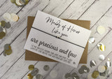 Wish Bracelet - Maids of Honor Like You Are Precious And Few DD1088