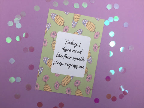Alternative Baby Journey Cards ® / Funny Milestones / Alternative Milestones Photo Prop / Baby Shower Gift / Pastel Cactus DD1263