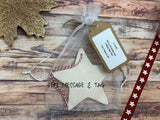 Ceramic Hanging Star / Merry Christmas to an Amazing Friend DD1317